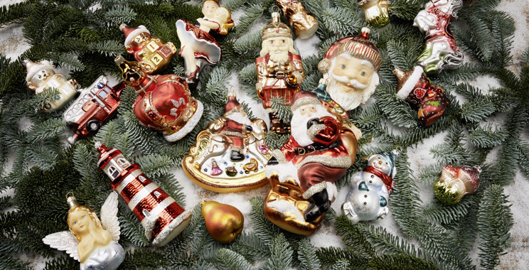 Christbaumkugeln Glas Günstig.Weihnachtskugeln Christbaumkugeln Christbaumschmuck Rödentaler