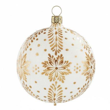 Christbaumkugeln Weiß Gold.Weihnachtskugeln Onlineshop Von Rödentaler