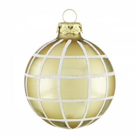 Christbaumkugeln Weiß Gold.Christbaumkugeln Weihnachtsfenster Curry Gold Weiß