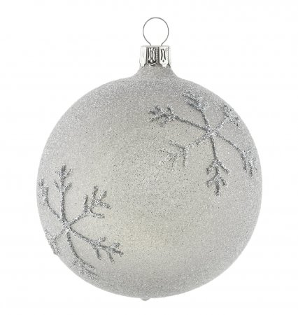 Christbaumkugeln Grau.Christbaumkugeln Besandet Grau Silber