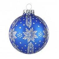 Weihnachtskugeln onlineshop von r dentaler for Christbaumkugeln blau